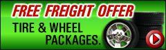 Free Freight on Wheel & Tire Packages