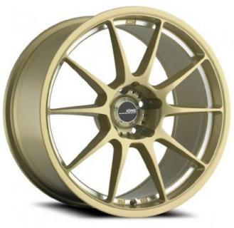 MILLIGRAM GOLD MACHINED UNDERCUT from KONIG WHEELS