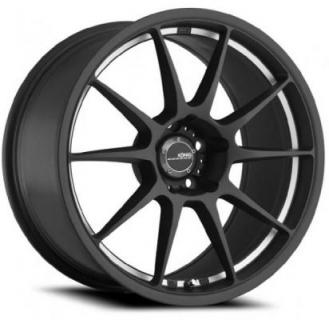 MILLIGRAM MATTE BLACK MACHINED UNDERCUT from KONIG WHEELS