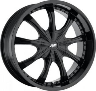 AVENUE WHEELS  A605 SATIN BLACK RIM