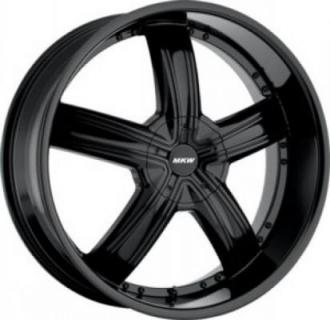 MKW WHEELS  M103 SATIN BLACK RIM