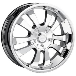 DIP WHEELS  D10 CHROME WHEEL