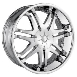 DIP WHEELS  PHANTOM CHROME WHEEL