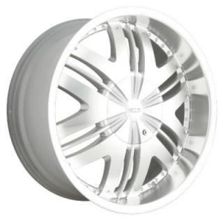 DIP WHEELS  PHOENIX HYPERSILVER RIM with MACHINED FACE and LIP