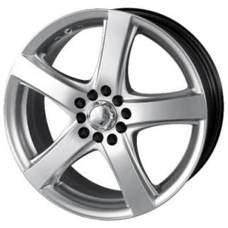 AK7 HYPERSILVER RIM from AKITA RACING WHEELS