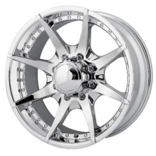 MPW WHEELS  MP201 CHROME RIM