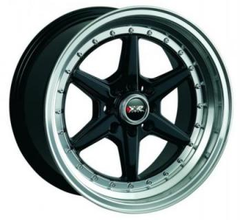 XXR WHEELS  501 BLACK/MACHINED