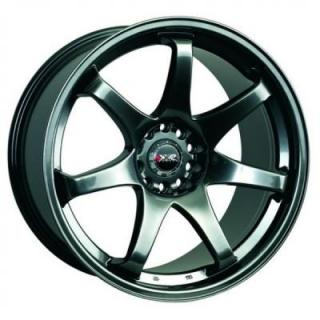 XXR WHEELS  522 CHROMIUM BLACK