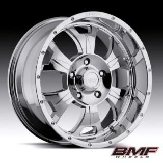 BMF WHEELS  M-80 CHROME RIM