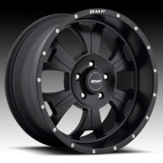BMF WHEELS  M-80 STEALTH SATIN BLACK RIM