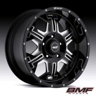 BMF WHEELS  S.E.R.E. DEATH METAL BLACK RIM