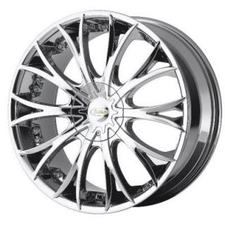 DI 38 KARAT BRIGHT PVD WHEEL from DIAMO WHEELS