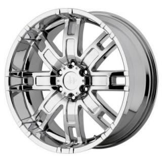HELO WHEELS  HE835 CHROME RIM
