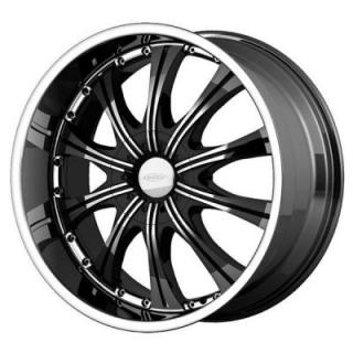 DIAMO WHEELS  DI 30 KARAT BLACK MACHINED WHEEL