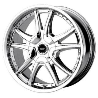 AMERICAN RACING WHEELS  AR607 ALERT CHROME RIM
