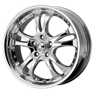 AMERICAN RACING WHEELS  AR683 CASINO CHROME RIM
