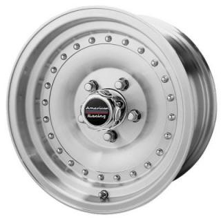 AR61 OUTLAW I MACHINED RIM from AMERICAN RACING WHEELS