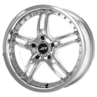 AMERICAN RACING WHEELS  AR671 SANTA CRUZ CHROME RIM