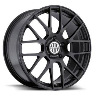 INNSBRUCK MATTE BLACK RIM by VICTOR EQUIPMENT WHEELS