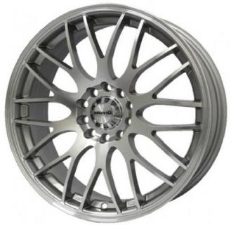 MAXXIM WHEELS  MAZE SILVER RIM with MACHINED FACE