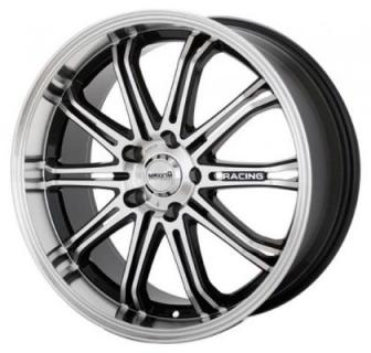 MAXXIM WHEELS  FERRIS BLACK RIM with MACHINED FACE