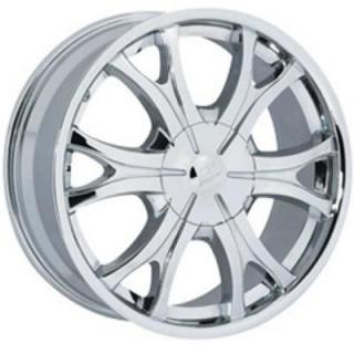SENDEL WHEELS  S05 CHROME RIM