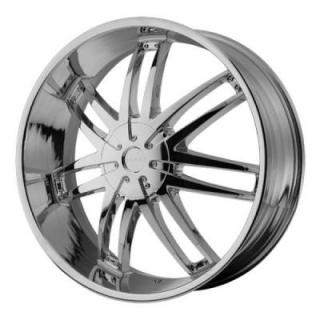 HE868 CHROME RIM from HELO WHEELS