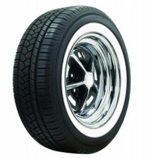 AMERICAN  CLASSIC TIRE  LOW PROFILE WHITEWALL RADIAL TIRE