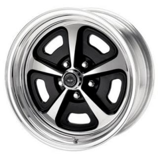 VN500 PAINTED CENTER WHEEL with POLISHED BARREL from AMERICAN RACING WHEELS