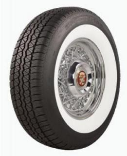 SILVERTOWN RADIAL 4 WHITEWALL TIRE by BF GOODRICH VINTAGE