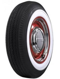 FIRESTONE VINTAGE TIRES  VINTAGE BIAS PLY 02 WHITEWALL TIRE