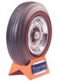 FIRESTONE VINTAGE TIRES  VINTAGE BIAS PLY 05 WHITEWALL TIRE