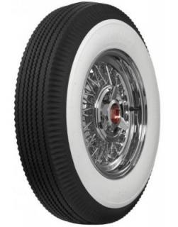 FIRESTONE VINTAGE TIRES  VINTAGE BIAS PLY 21 WHITEWALL TIRE