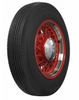 FIRESTONE VINTAGE TIRES  VINTAGE BIAS PLY 24 WHITEWALL TIRE