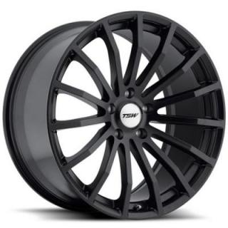 TSW WHEELS - OCT. SALE!  MALLORY 5 MATTE BLACK RIM