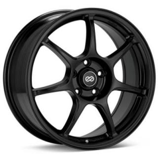 ENKEI WHEELS  FUJIN BLACK WHEEL