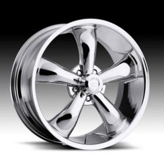 HRH CLASSIC ALLOY WHEELS LEGEND 142 RWD CHROME RIM
