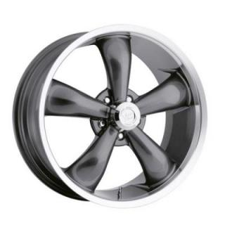 HRH CLASSIC ALLOY WHEELS LEGEND 142 RWD GUNMETAL RIM