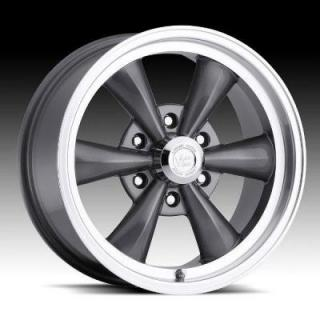 HRH CLASSIC ALLOY WHEELS LEGEND 6 TYPE 141 GUNMETAL RIM