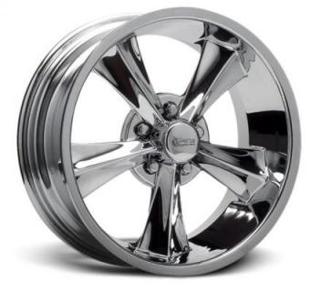 MODERN MUSCLE BOOSTER CHROME RIM by ROCKET RACING WHEELS