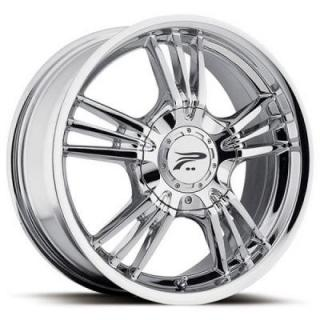 PLATINUM WHEELS  WOLVERINE 122 CHROME RIM