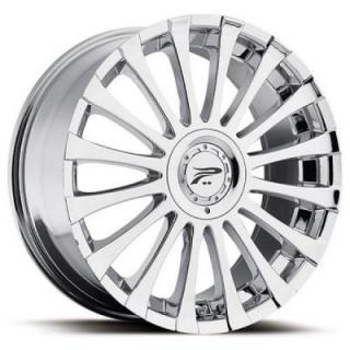 PLATINUM WHEELS  EMOTION 405 CHROME RIM