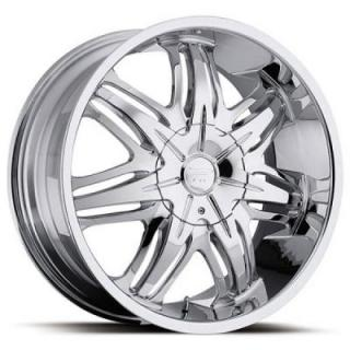 PLATINUM WHEELS  CLOAK 413 RWD CHROME RIM