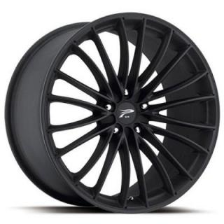 PLATINUM WHEELS  MONARCH 417 MATTE BLACK RIM
