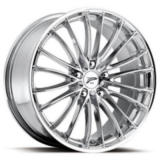 PLATINUM WHEELS  MONARCH 417 CHROME RIM