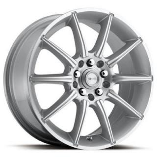 FOCAL WHEELS  F02 420 SILVER MACHINED RIM