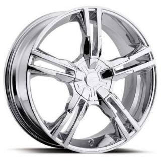 PLATINUM WHEELS  SABER 291/292 CHROME RIM