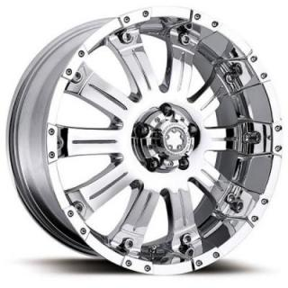 ULTRA WHEELS  MAMMOTH 227/228 CHROME RIM