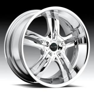 DUB WHEELS  PHASE 5 S104 CHROME WHEEL