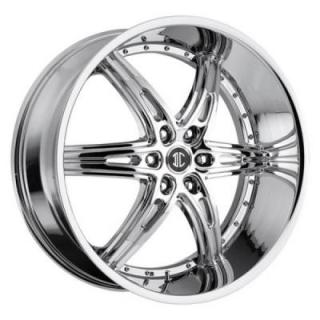 2 CRAVE WHEELS  2 CRAVE N16 CHROME RIM